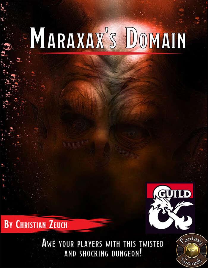 Maraxax's Domain Fantasy Grounds Cover