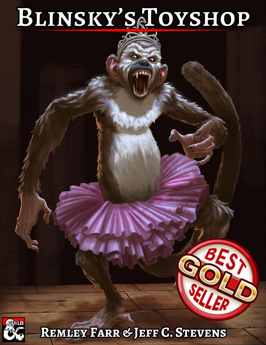 Cover of Blinsky's Toyshop