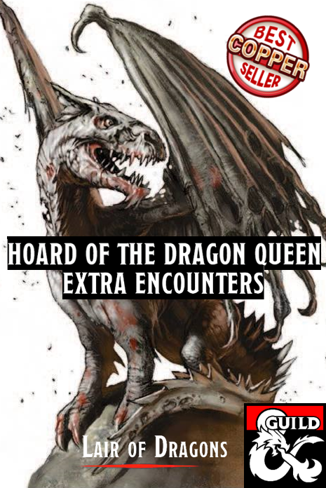 Hoard Of The Dragon Queen Extra Encounters Dungeon Masters Guild Dungeon Masters Guild Version 1 pdf front page. dungeon masters guild