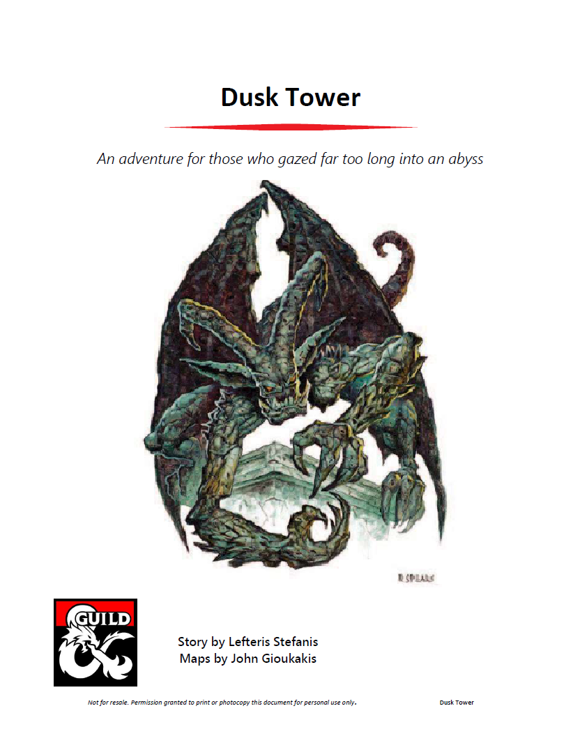 Cover of Dusk Tower