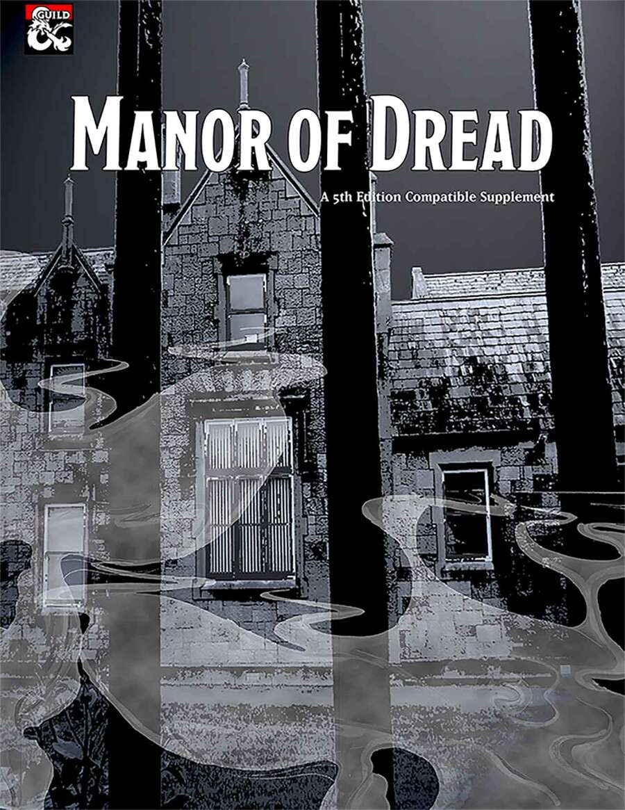 Cover of Manor of Dread