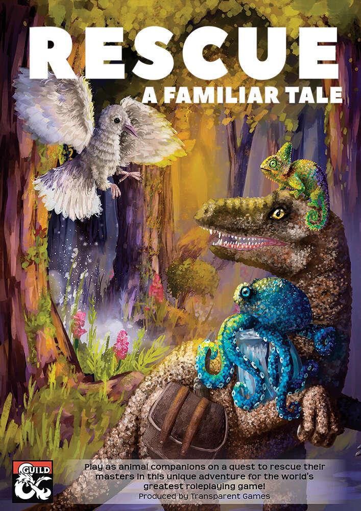 Cover of Rescue A Familiar Tale