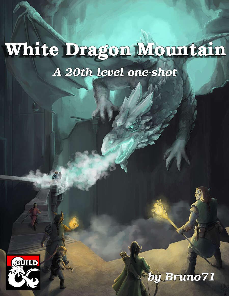 Cover of White Dragon Mountain