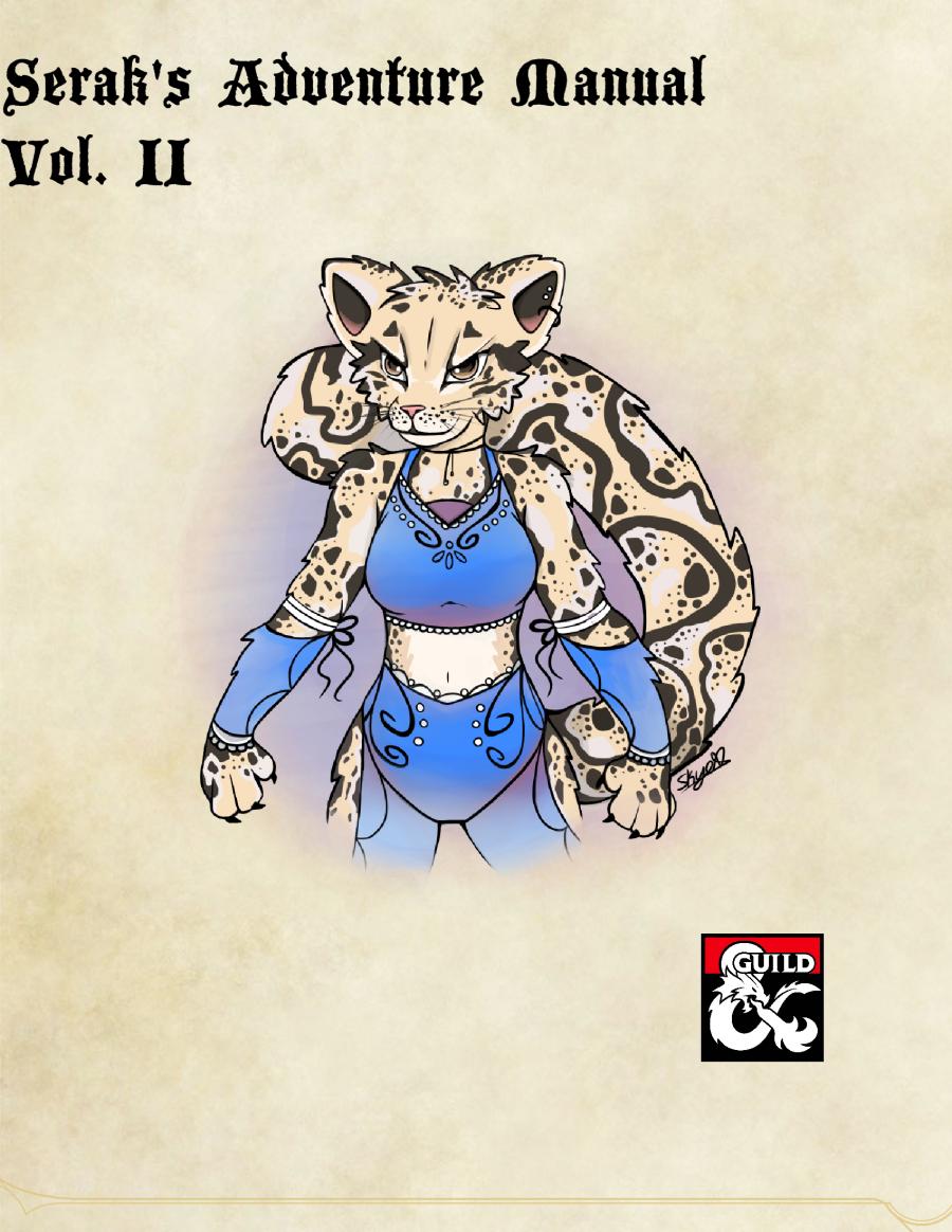 Serak's Adventure Manual, Vol II