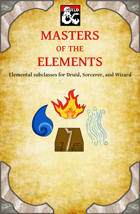 Masters of the Elements