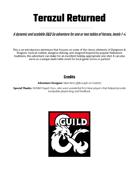 Terazul Returned
