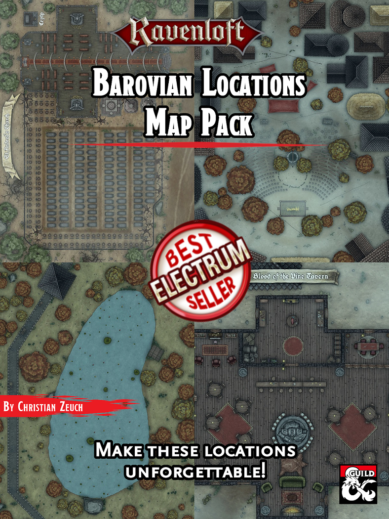 Barovian Locations Map Pack