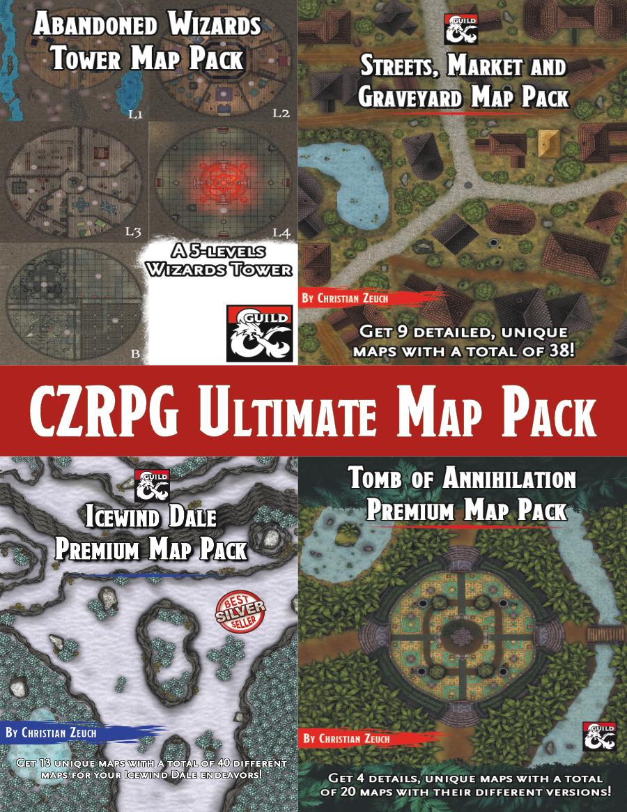 CZRPG Ultimate Map Pack Bundle