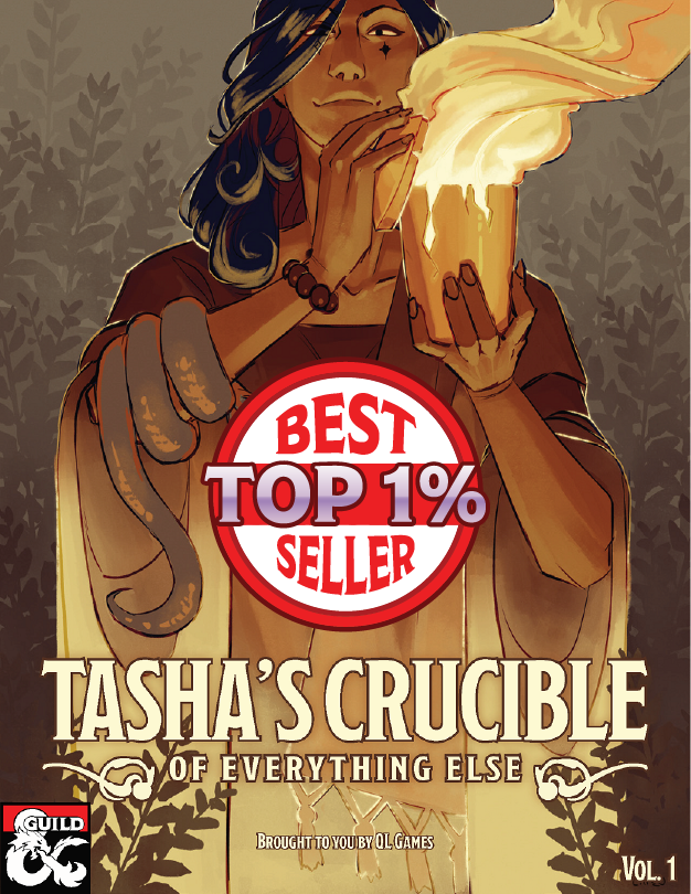 Tasha's Crucible of Everything Cover