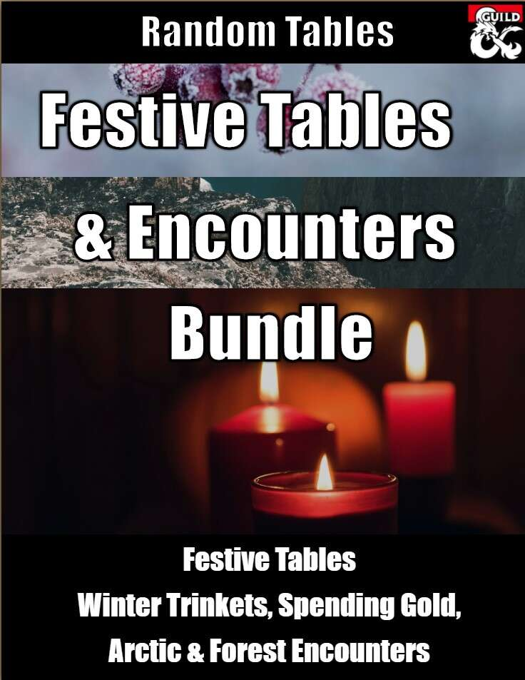 Festive Tables and Encounters Bundle