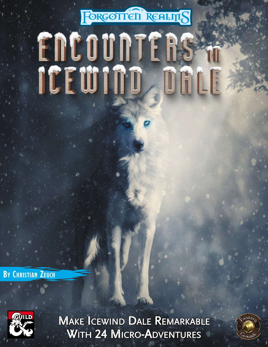 Encounters in Icewind Dale Fantasy Grounds Cover