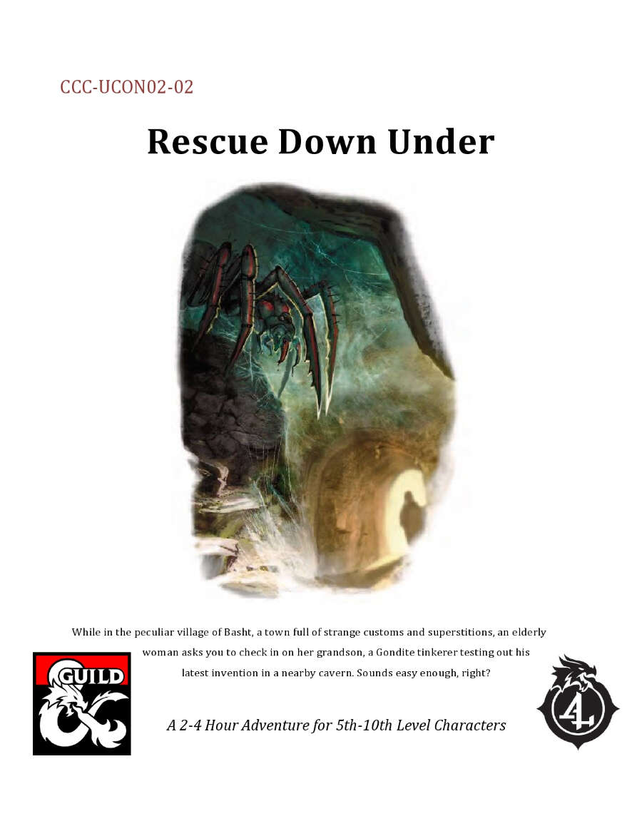 Cover of CCC-UCON-02-02 Rescue Down Under