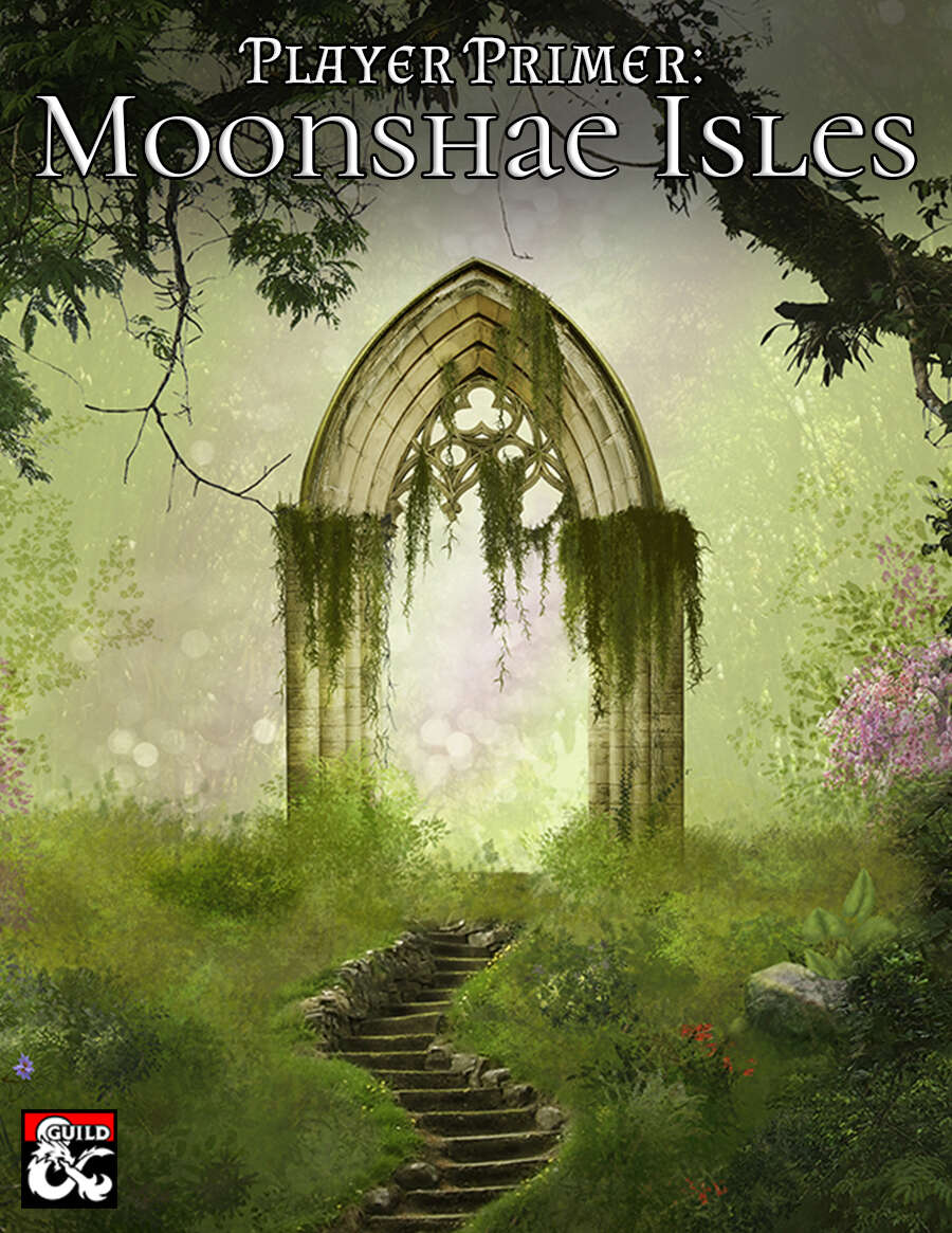 Across the Sea of Swords, the mysterious and myth-shrouded Moonshae Isles lie.