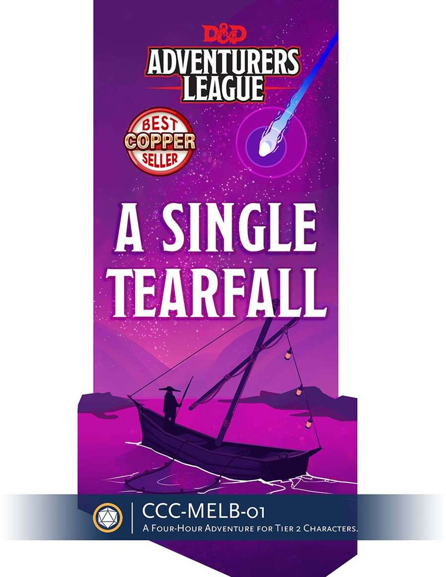Cover of CCC-MELB-01 A Single Tearfall