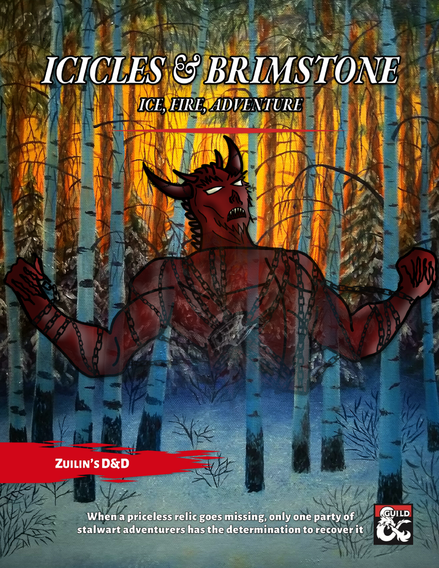 Cover of Icicles & Brimstone