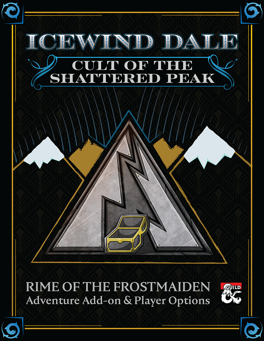 Bring the intrigue of the lost Netherese empire to the forefront with this all-inclusive supplement about those trying to keep it lost: the Cult of the Shattered Peak.