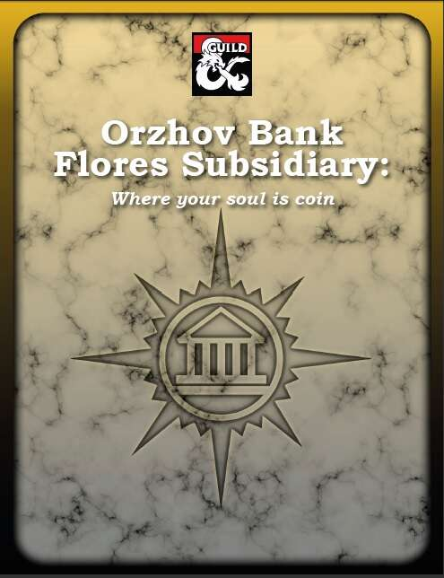 Orzhov Bank Flores Subsidiary Dungeon Masters Guild Dungeon Masters Guild Although the words emblem and symbol are often used interchangeably, an emblem is a pattern that is used to represent an idea or an individual. dungeon masters guild