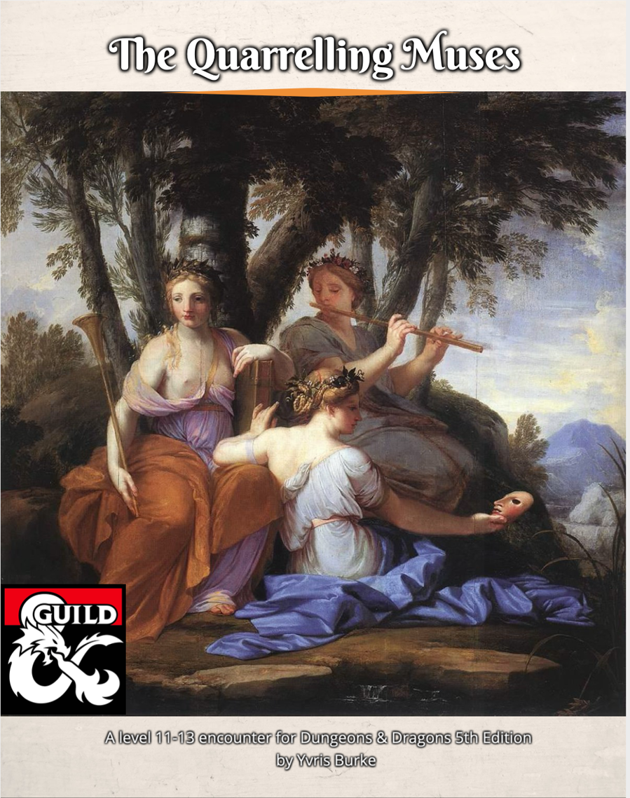 Cover of Quarrelling Muses