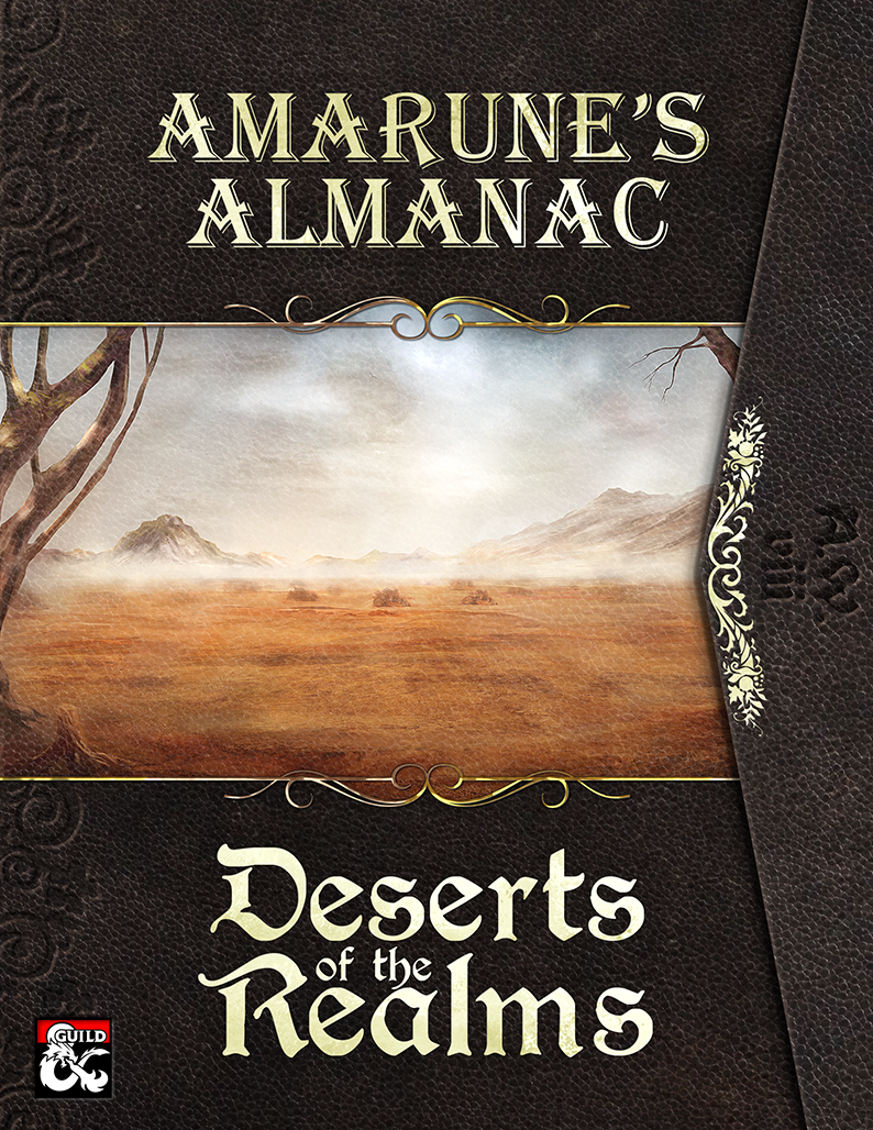 A survival guide for the arid dust-filled regions of Forgotten Realms