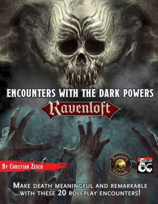 Encounters with the Dark Powers Fantasy Grounds Cover