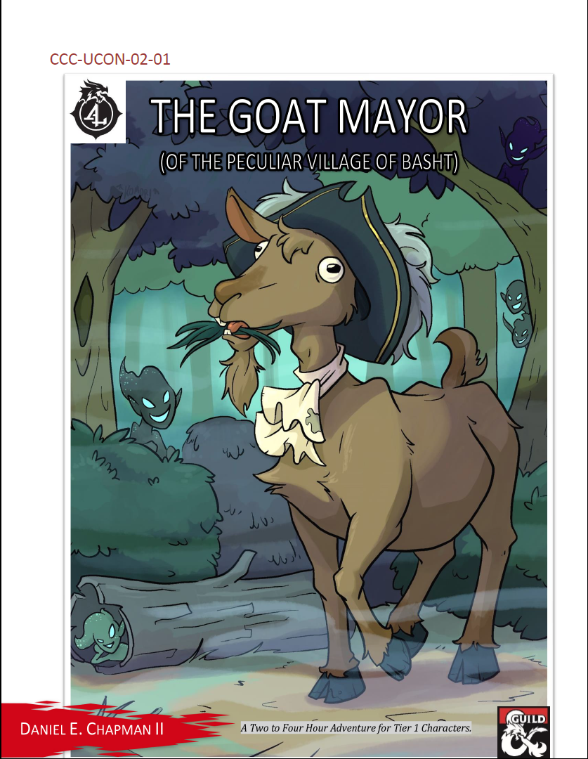 Cover of CCC-UCON-02-01 The Goat Mayor