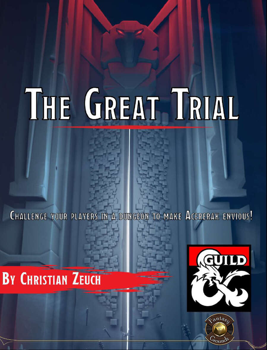 The Great Trial Fantasy Grounds Cover