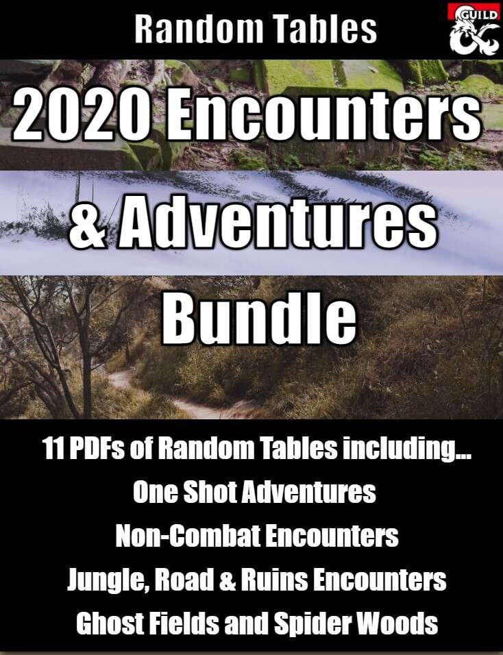 2020 Adventures and Encounters Bundle
