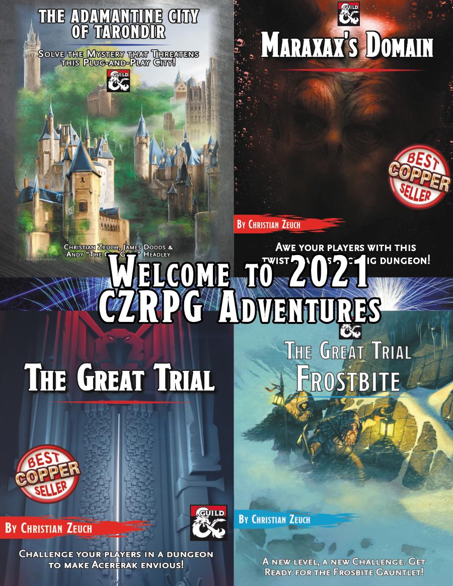 Welcome to 2021 CZRPG Adventures Bundle