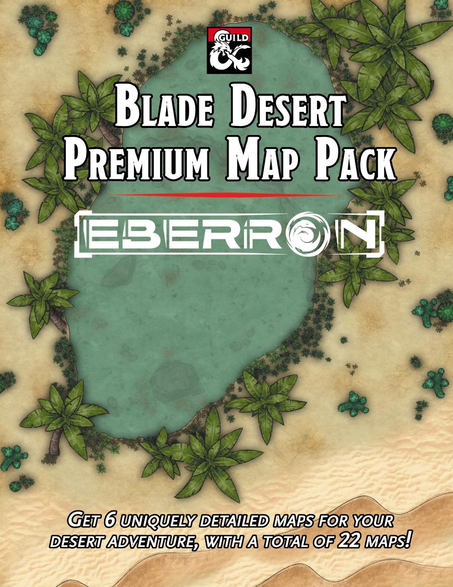 Blade Desert Premium Map Pack