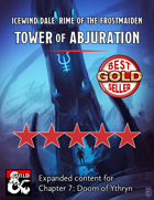 Ythryn Expanded Tower of Abjuration - maps and extra content for Rime of the Frostmaiden