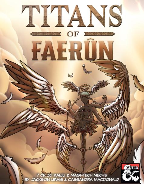 Titans of Faerun cover