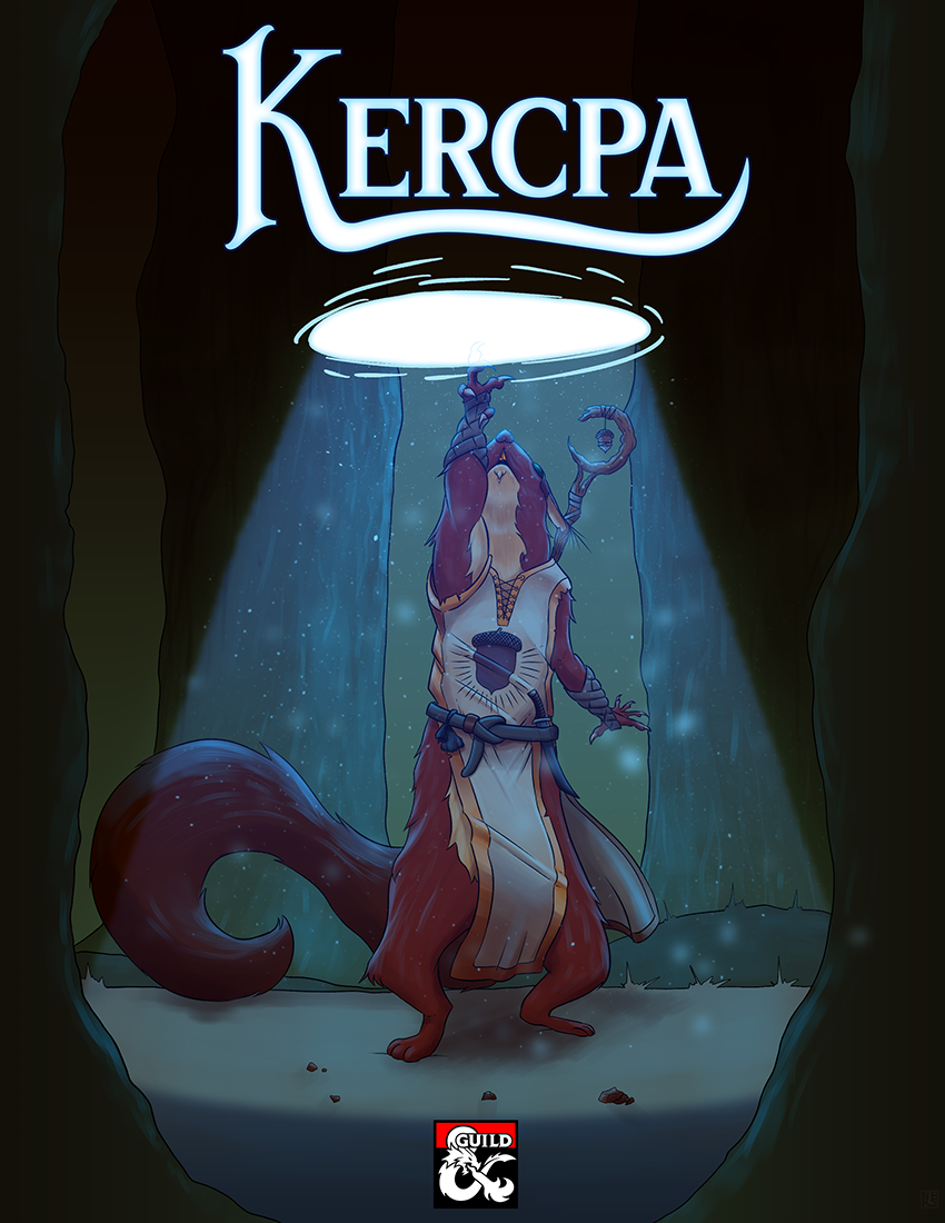 Kercpa — Squirrelfolk Lineage and Subclasses. A race of reclusive yet merry forest dwellers. Complete with lineage and cultural features, 2 new subclasses for the Rogue and Barbarian, and all the tools needed to fit the small Kercpa into your game!