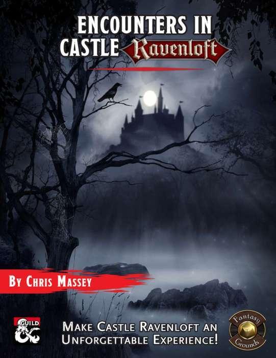 Encounters in Castle Ravenloft Fantasy Grounds Cover
