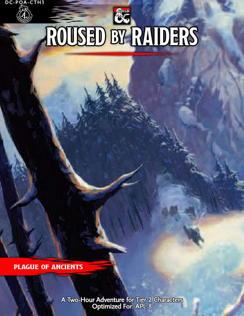 Cover of DC-PoA-CTH1 Roused by Raiders