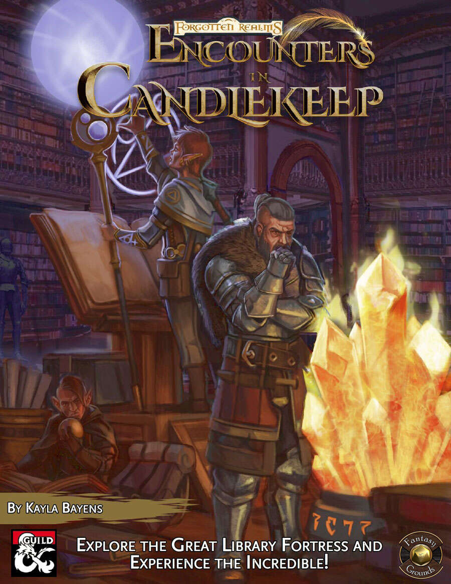 Encounters in Candlekeep Fantasy Grounds Cover
