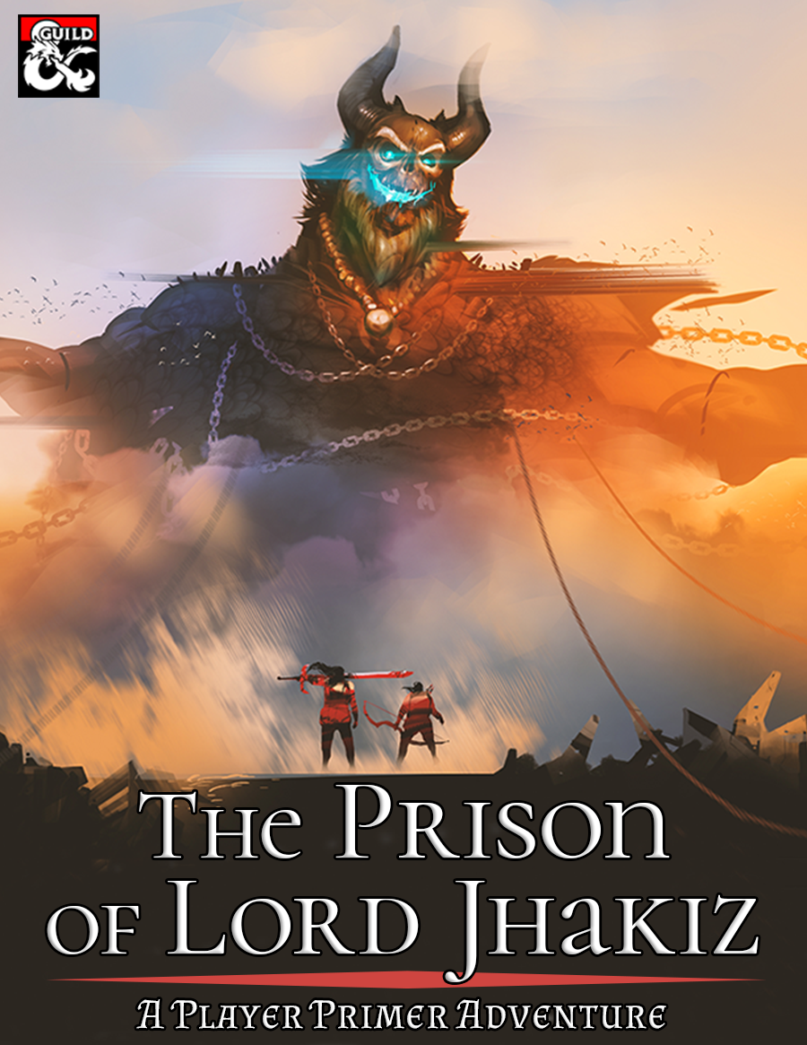 During the Glorious Revolution, the genie warlords commanding Calimshan were overthrown--but their legacy remains. A ruin deep in the Calim Desert has been uncovered, and adventurers are needed to venture into its depths! Beyond the traps and creatures inside, the mighty efreeti Lord Jhakiz is awakening. Will the adventurers be able to survive the Prison of Lord Jhakiz?