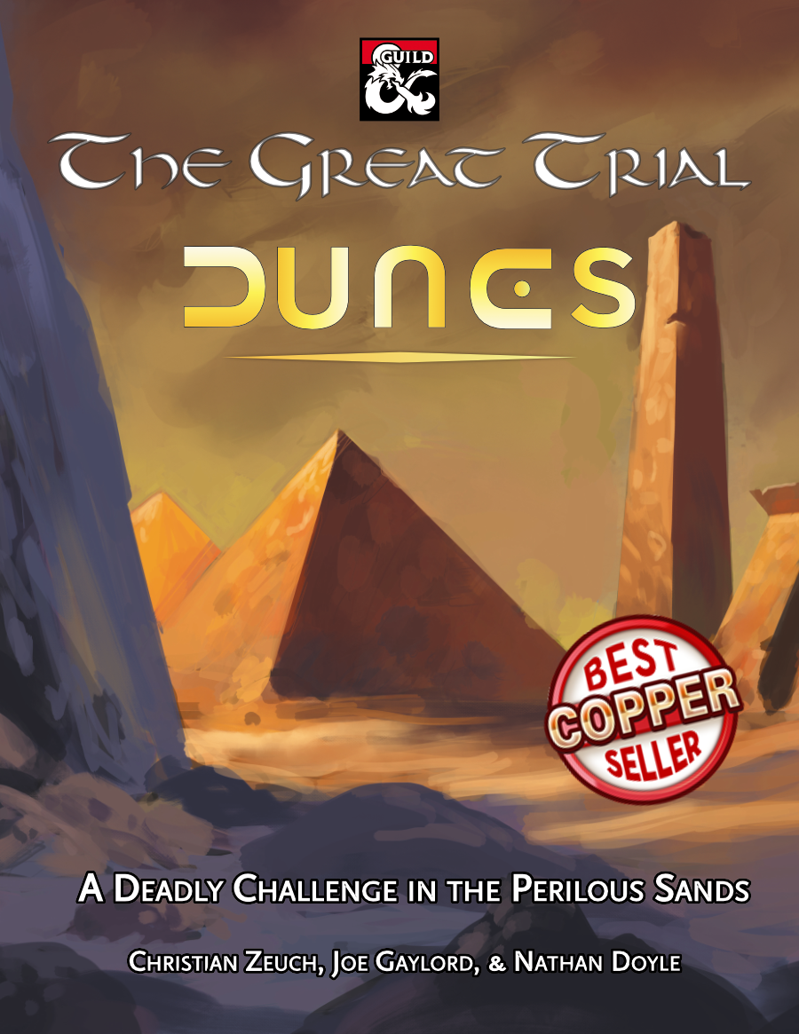 The Great Trial: Dunes Cover