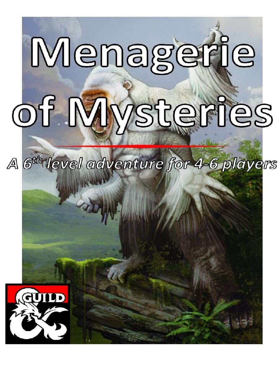 Cover of Menagerie of Mysteries