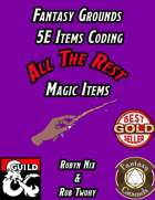 Fantasy Grounds 5E Items Effects Coding - ALL THE REST Magic Items