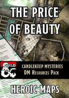 Candlekeep Mysteries: The Price of Beauty DM Resources Pack