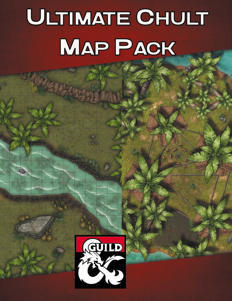 Ultimate Chult Maps Bundle Cover