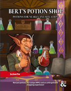Bert's Potion Shop