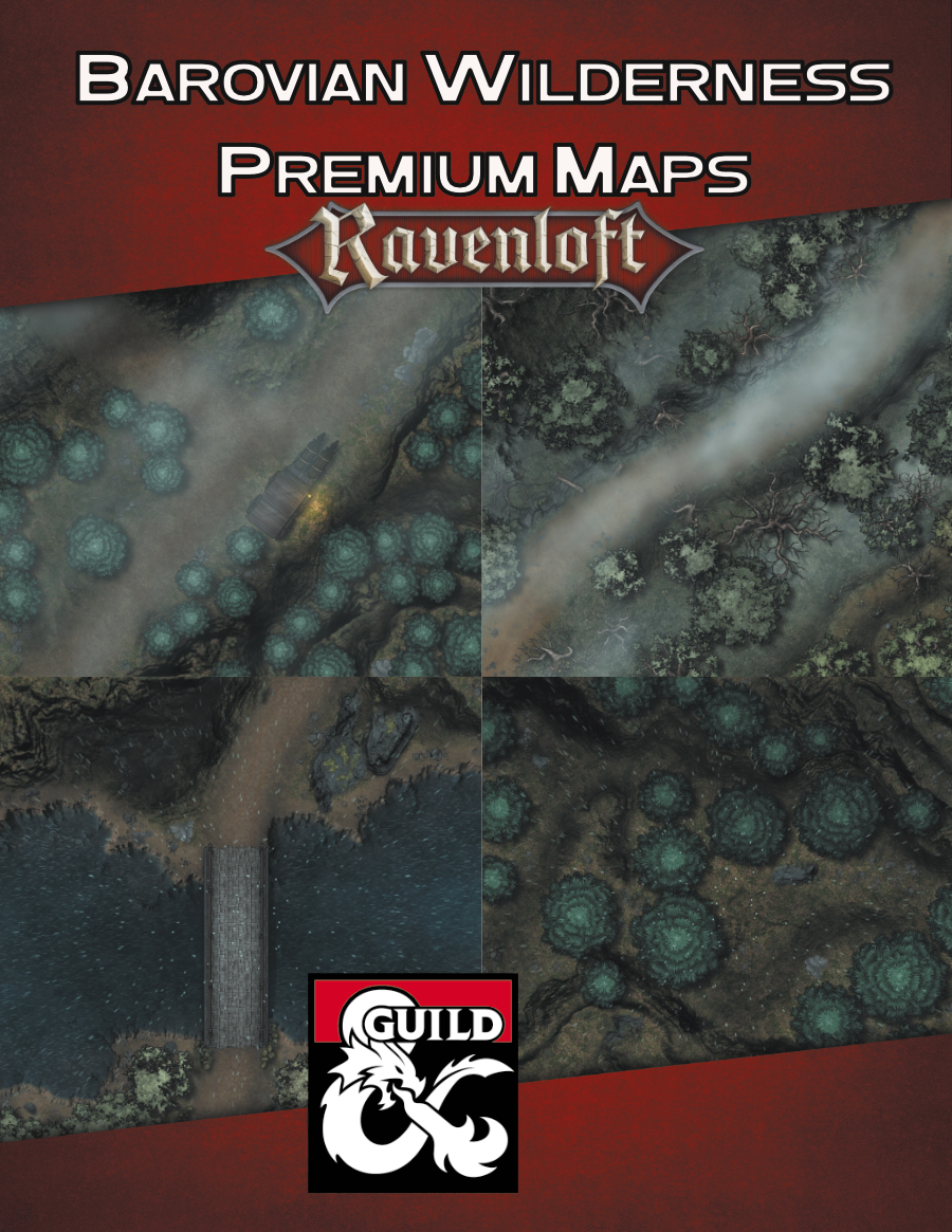 Barovian Premium Maps Bundle Cover