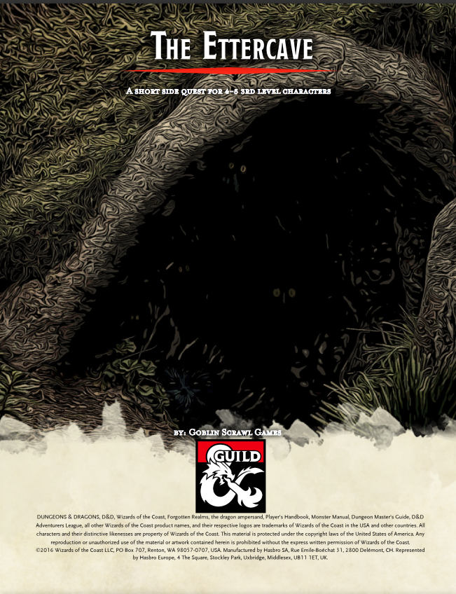 Cover of The Ettercave