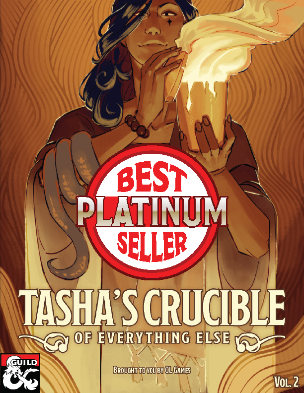 Tasha's Crucible of Everything Else cover art
