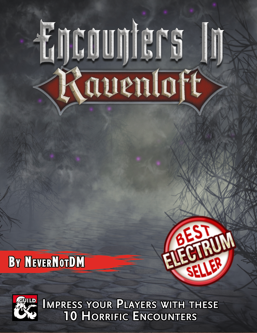 Encounters in Ravenloft Cover
