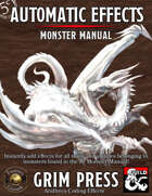 5E Automatic Effects - Monster Manual (Fantasy Grounds)