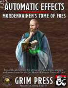 5E Automatic Effects - Mordenkainen's Tome of Foes (Fantasy Grounds)