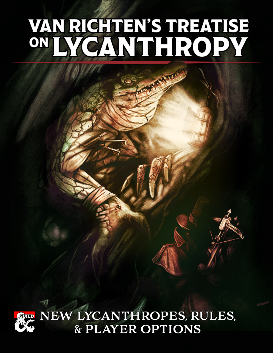 Werebeasts beware! Van Richten's Treatise on Lycanthropy revolutionizes the werebeast's curse like never before! This massive, 154-page supplement contains the following additions to gothic horror's greatest beast: