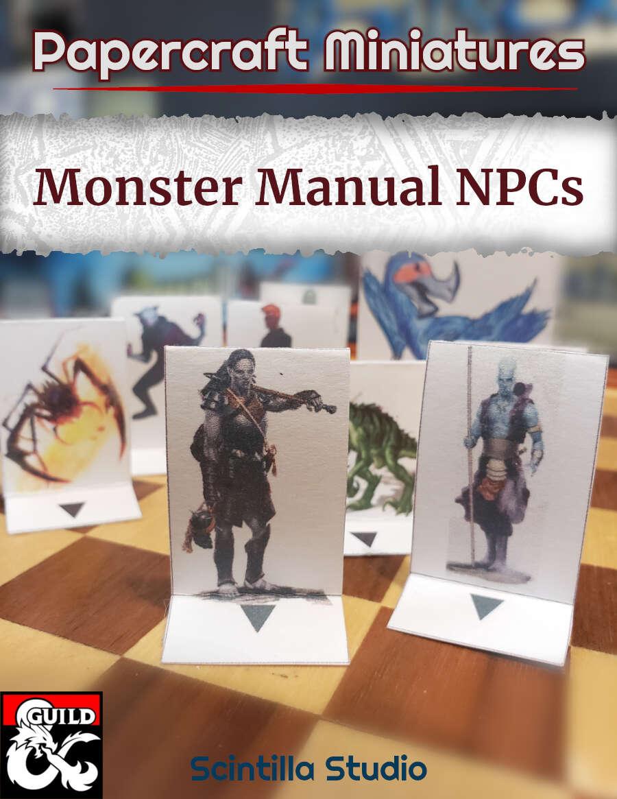 Papercraft Minis: Feywild creatures